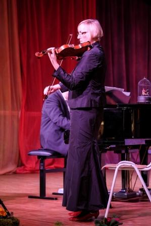 Michaela Hüttich - Geige