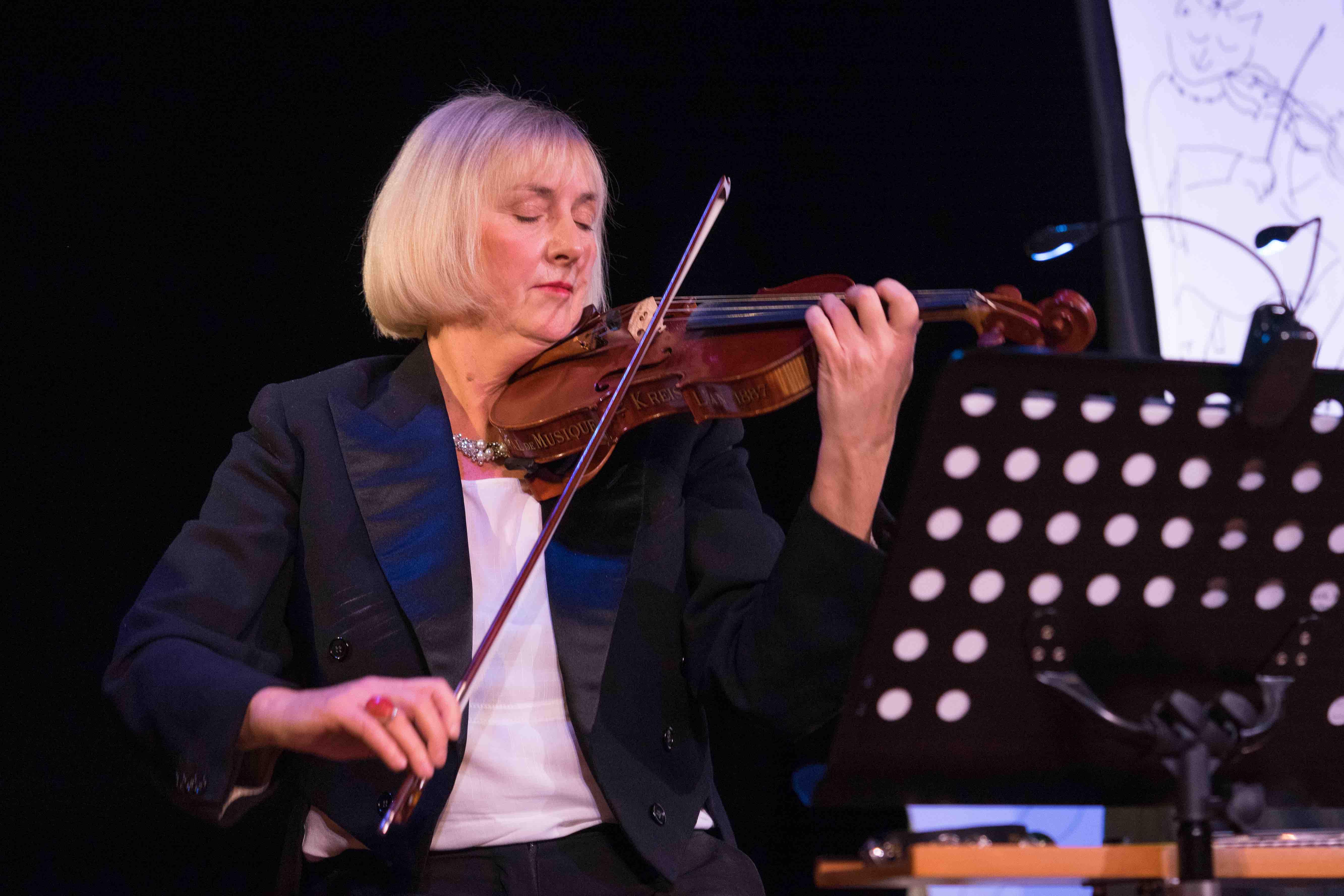 Michaela Hüttich, Geige